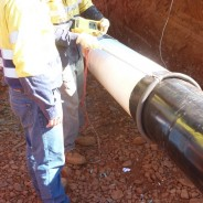 Pipeline Coating Holiday Testing