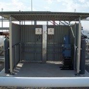 Gas Chromatograph and Shelter Installation
